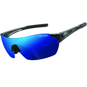 Tifosi Launch SFH Glasses gloss black - smoke/clarion blue/AC red/clear